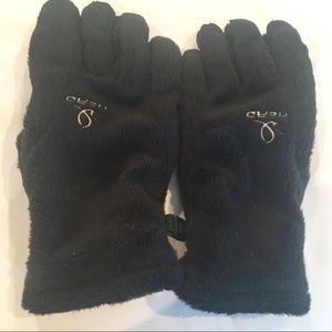 HEAD black fleece winter gloves- unisex